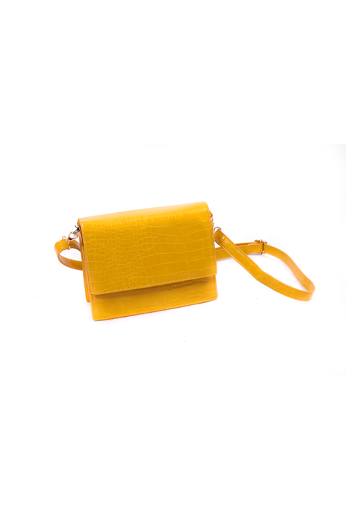 Leslie tas geel