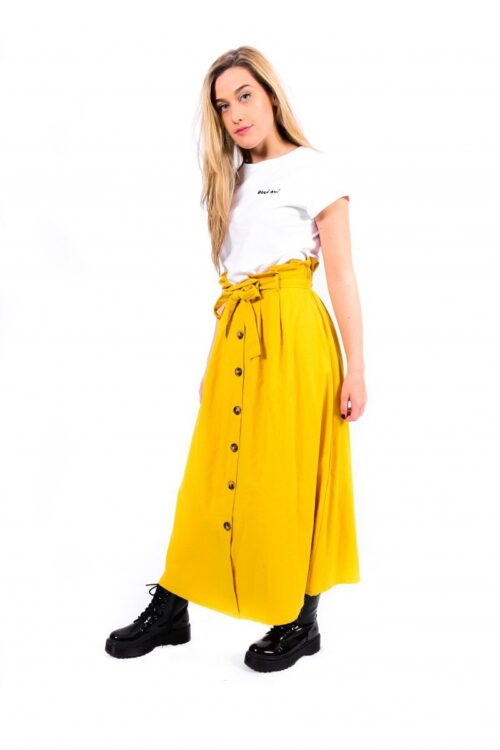Summer rok geel