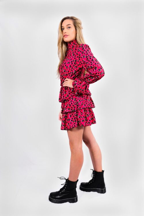 Pink panter jurk